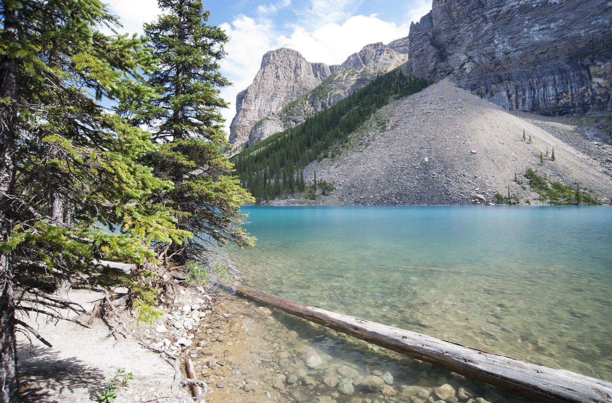 Natural Wonder: Morraine Lake, Banff National Park, Alberta