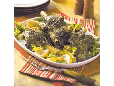 Slow-Cooker Burgundy Lamb Shanks Recipe