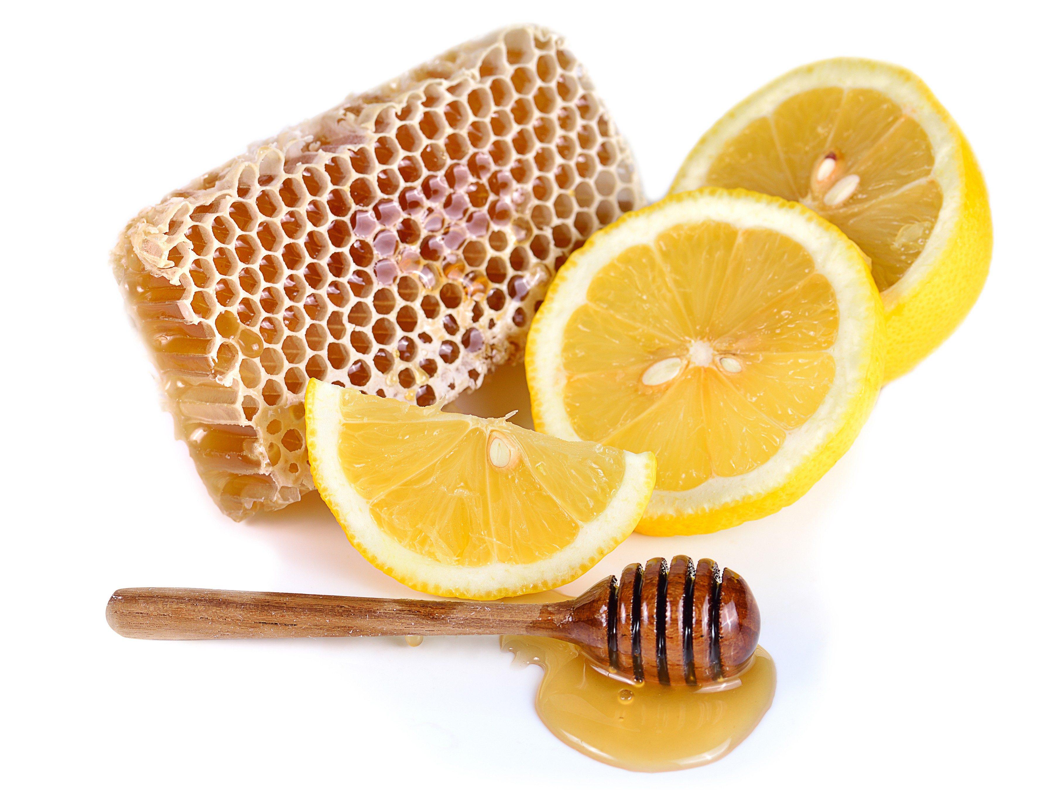 7. Lemon and honey