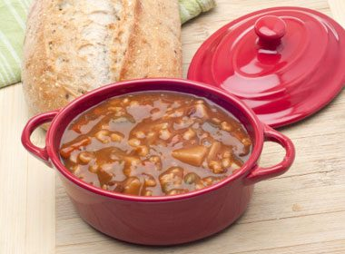 11. Beefy Mushroom Barley Soup Recipe