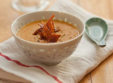 12. Hardy Tomato and Red Lentil Soup Recipe