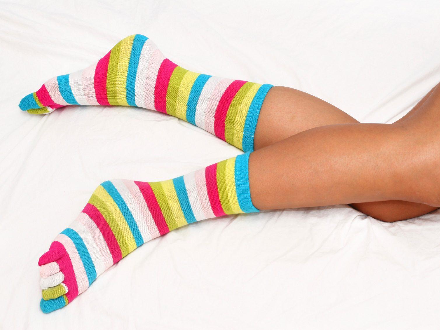 Socks are Conducive to a Sound Slumber
