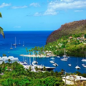 5. St. Lucia