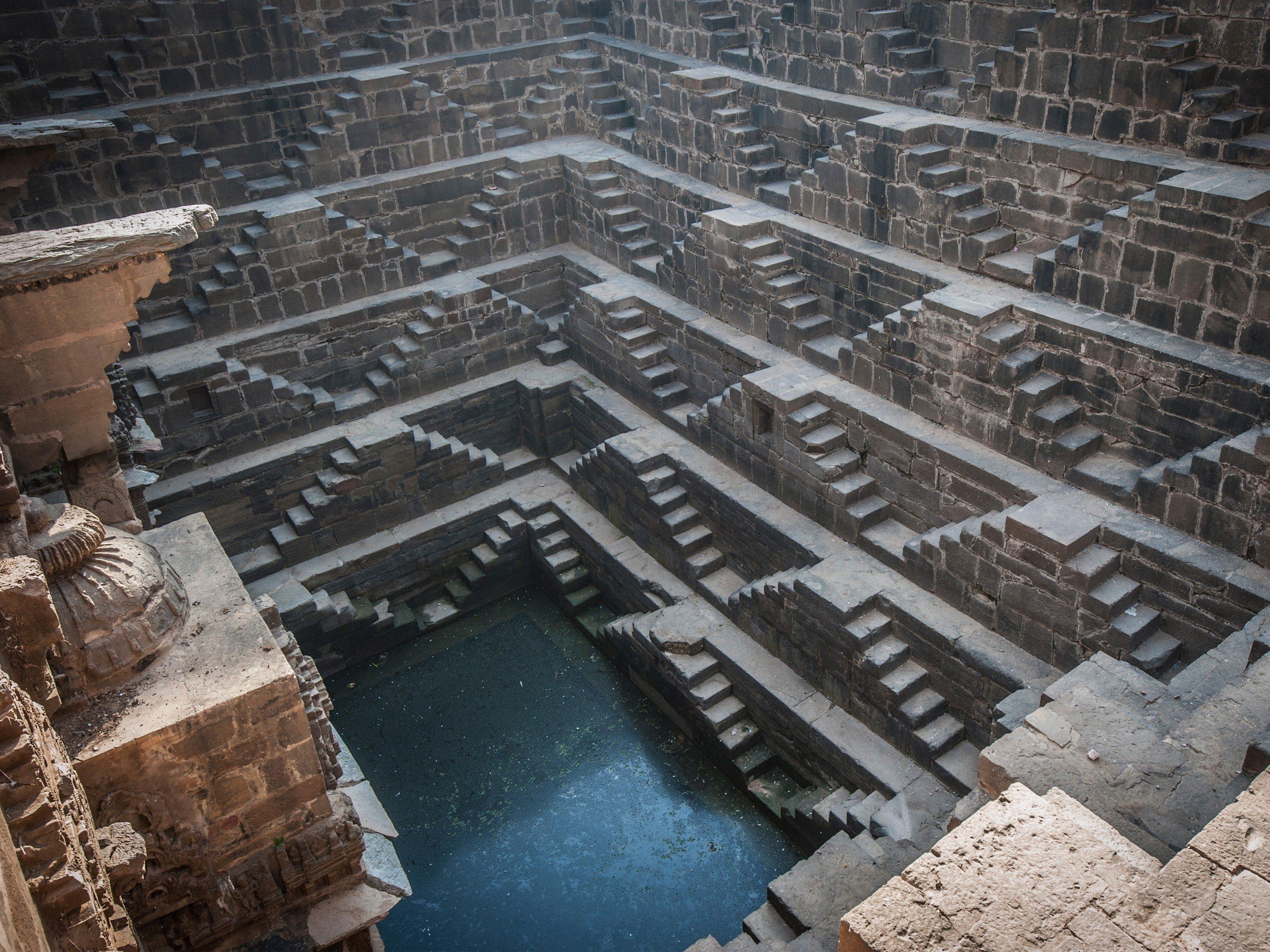 Ancient Building Feats: AchitChand Baori - India