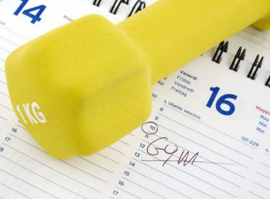 Give Exercise Priority in Your Schedule