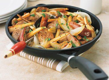 Pork & Apple Stir Fry