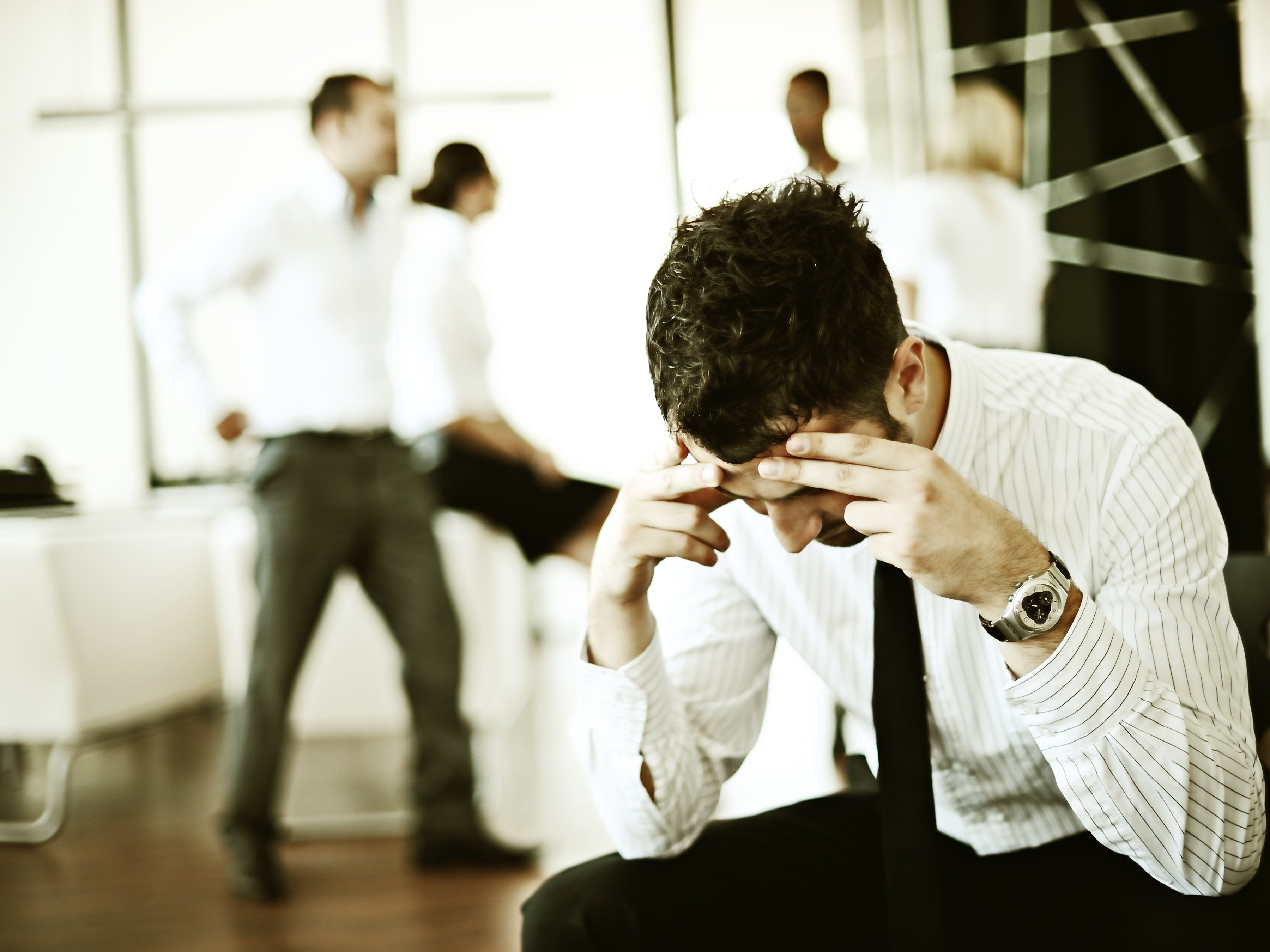 3. You're not alone: Stress is rampant.