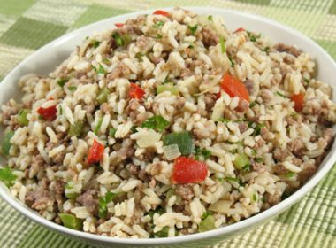 Cranberry and Pistachio Wild Rice Stuffing