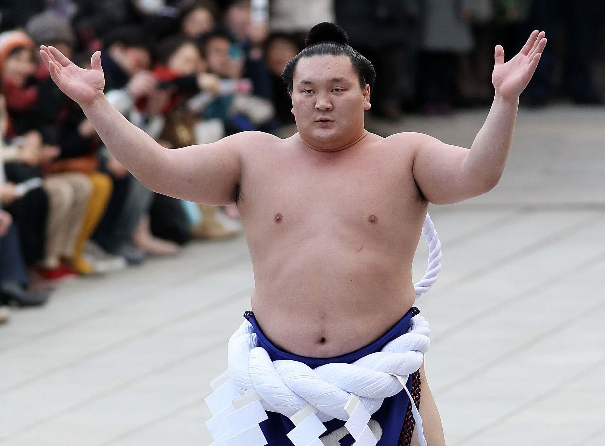 A Sumo Wrestling Match