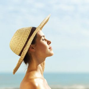 8. Getting Sunburned Every Summer