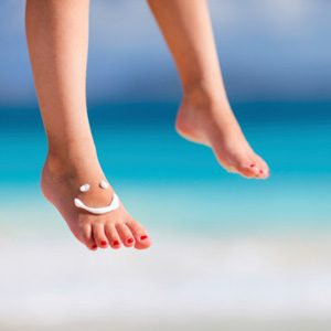 1. Give Your Feet The Underarm Treatment