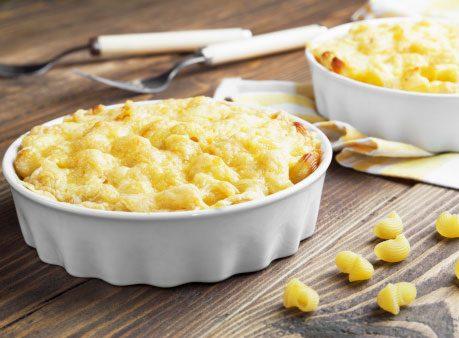 Add cauliflower to pasta