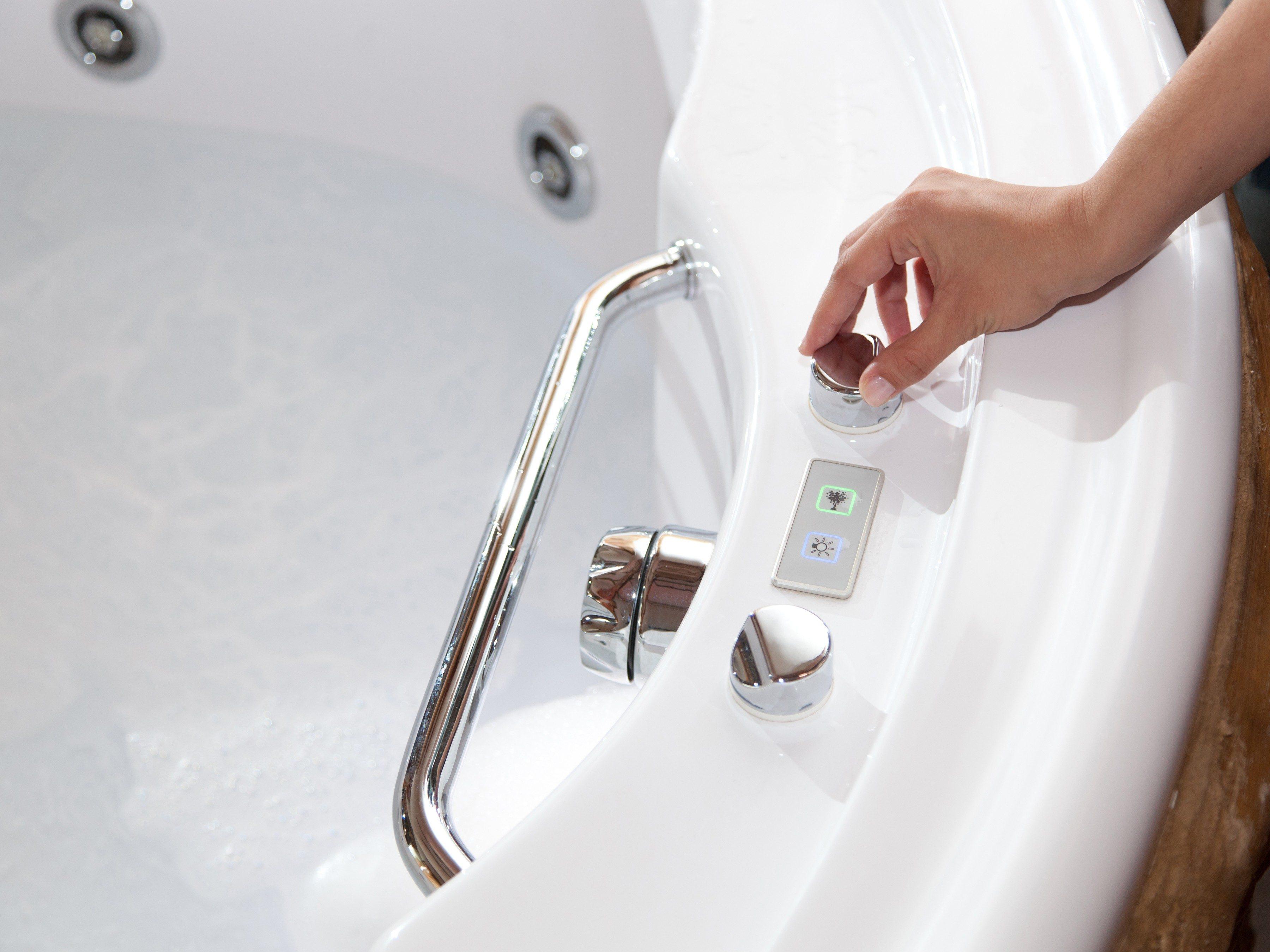 9. Take a warm bath.