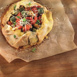 Rustic Roasted Vegetable Tart