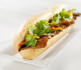 Recipe: Thai-Style Beef Sandwiches