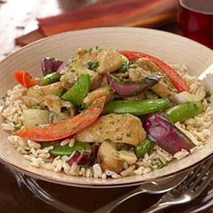 Fall Rice Recipes: Thai Curry
