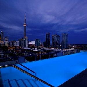 The Thompson Hotel Rooftop Lounge - Toronto, Ontario