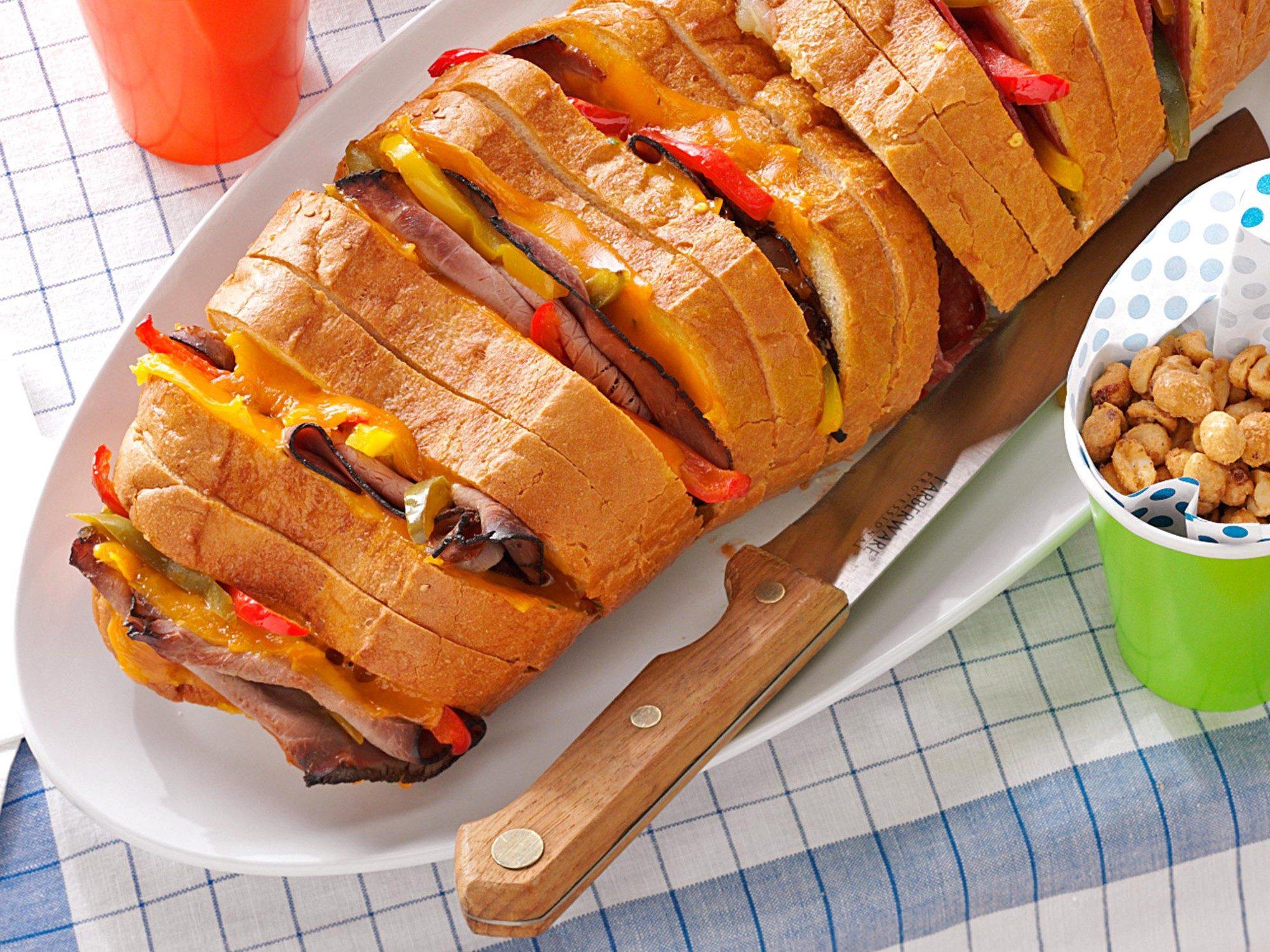 Grilled Italian Sandwich Recipe