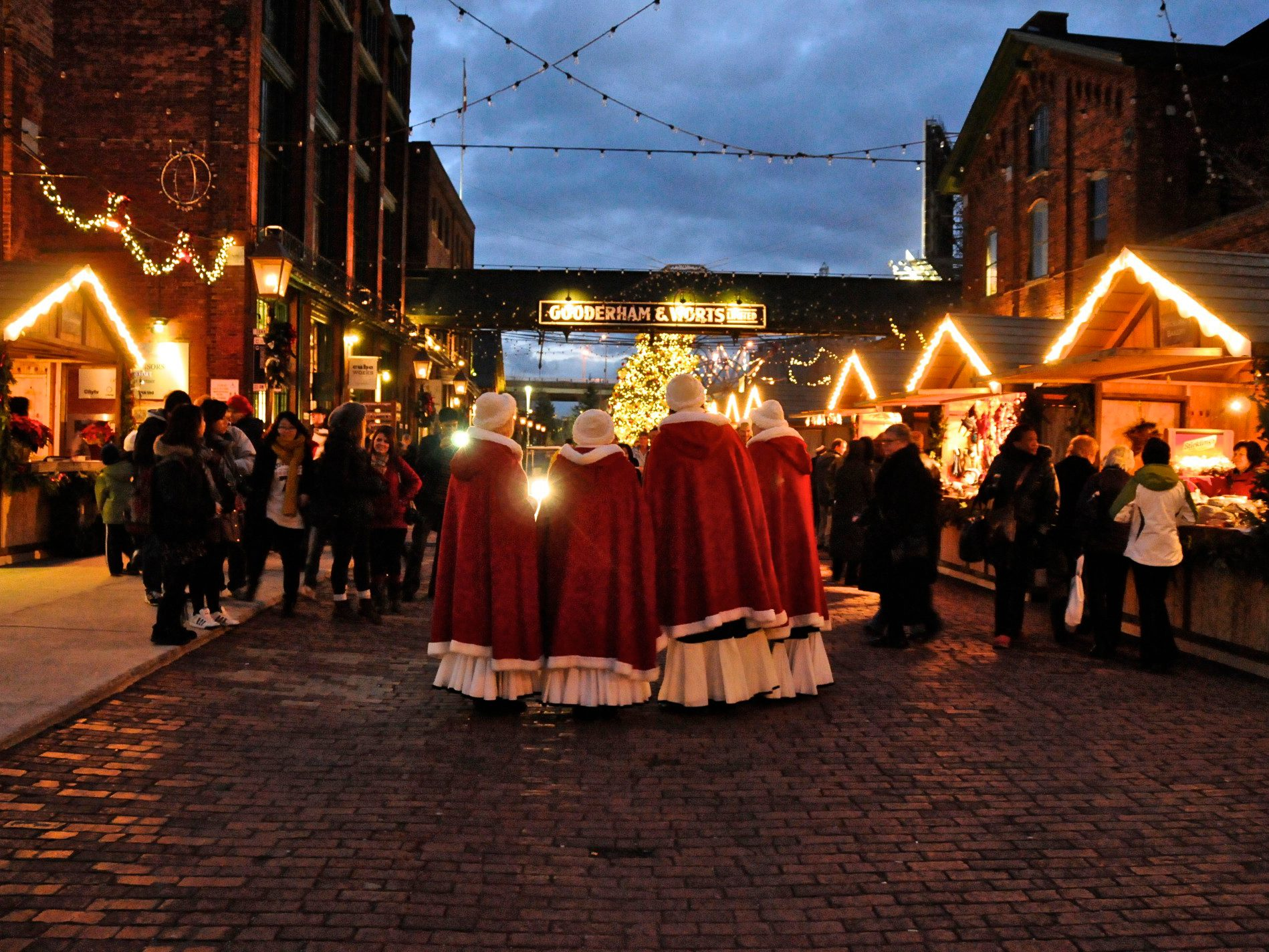 10. The Distillery Historic District Christmas Market