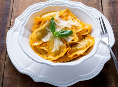 Cheese Tortellini with Pumpkin & Ricotta
