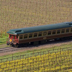 California wine attractions #2: Napa Valley Wine Train