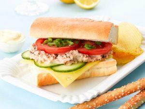 Tuna Provencale on a Baguette Recipe