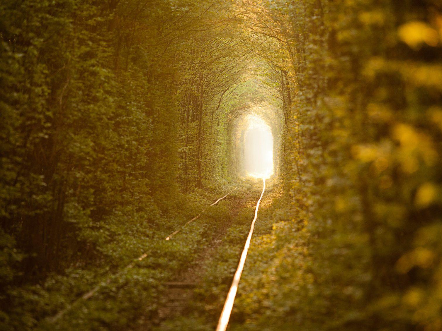Natural Wonders to See Before You Die: Tunnel of Love, Ukraine