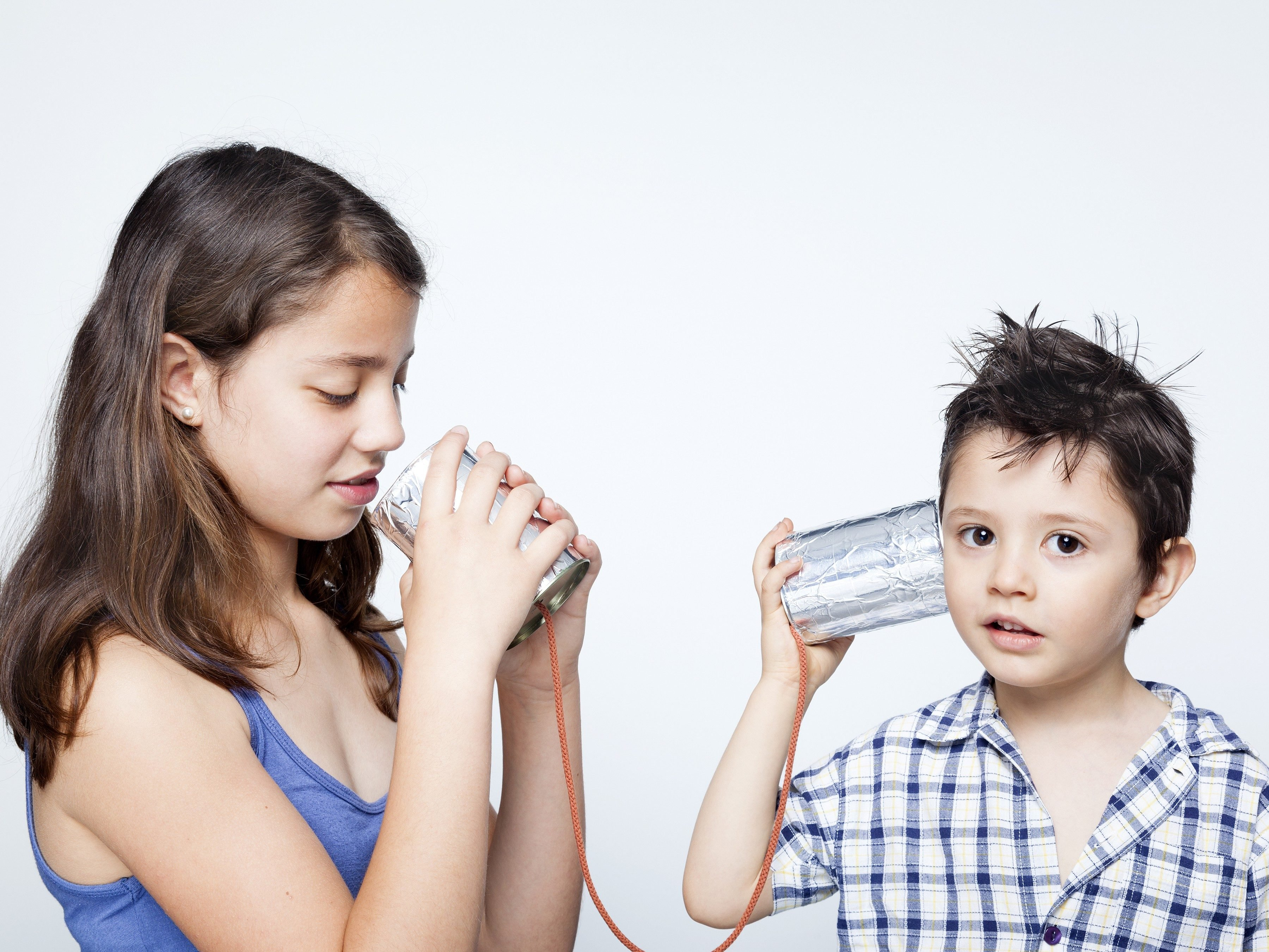 3. Turn a Funnel Into a Kids' Telephone