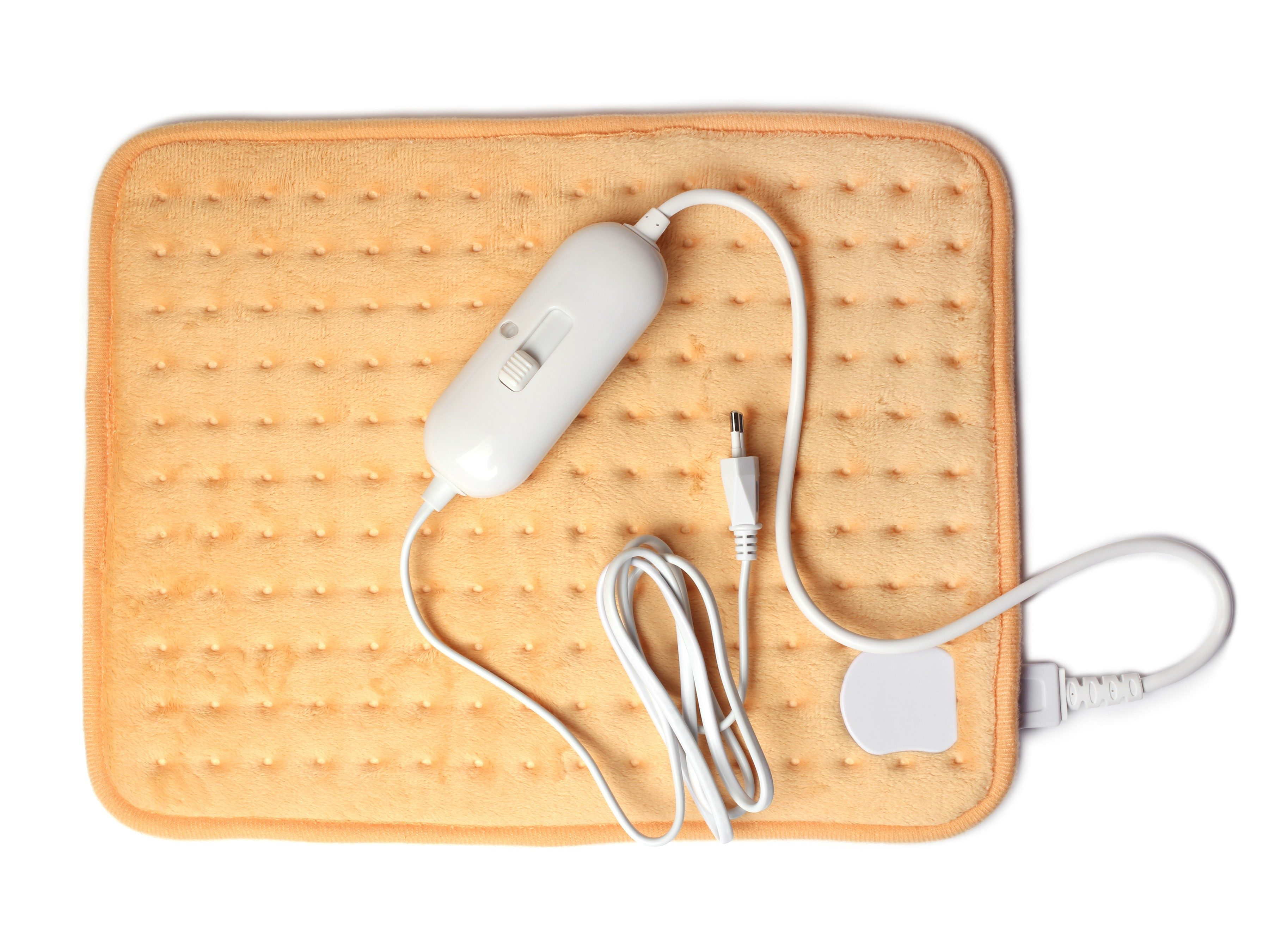 5. Use a heating pad to relieve sore muscles.