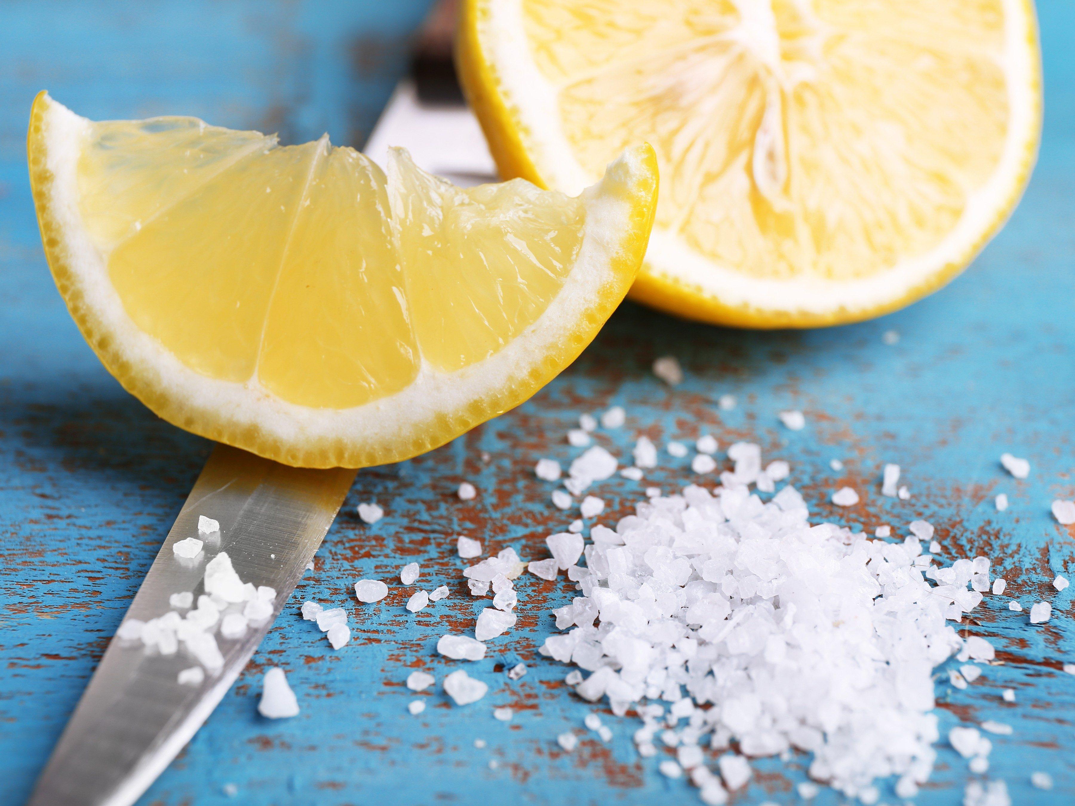 3. Use Lemons to Banish Mildew