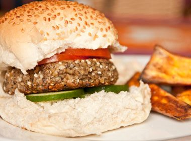 Foods That Soothe Your Stomach: Chipotle Veggie Burgers