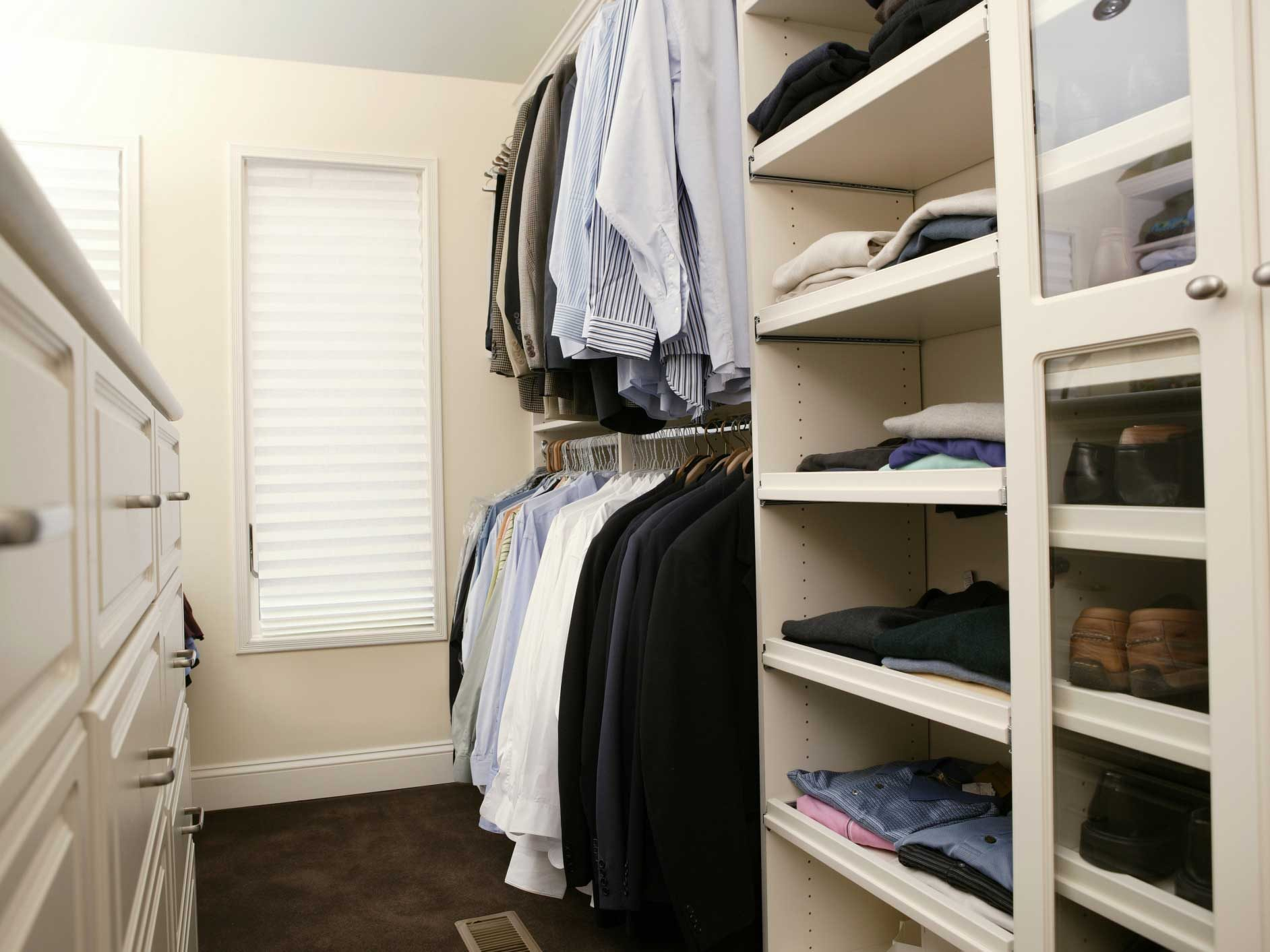 Organizing Hacks for Clothes Closets