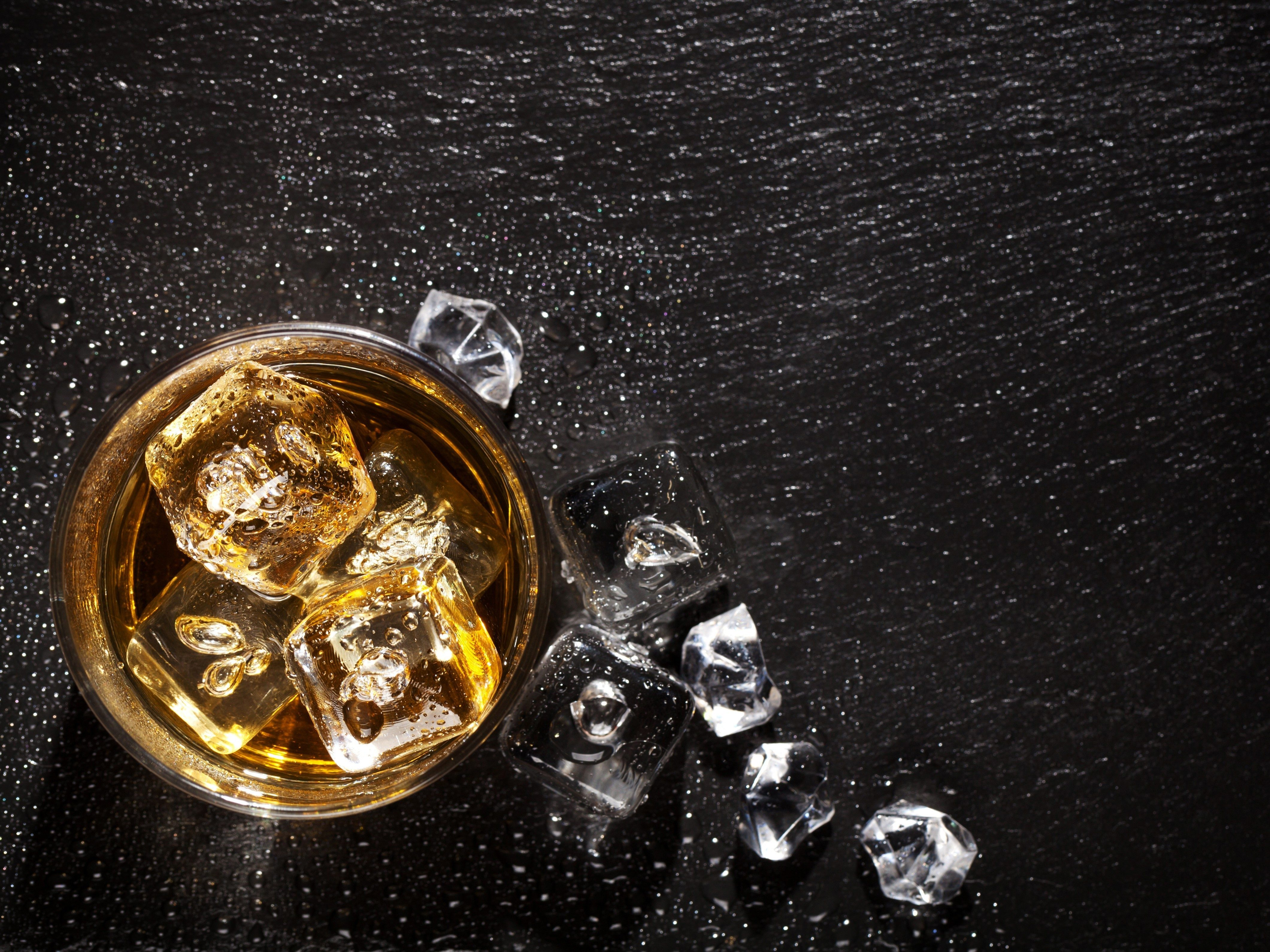 1. Whisky on the rocks is perfectly acceptable.