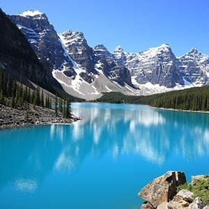 8. The Canadian Rockies