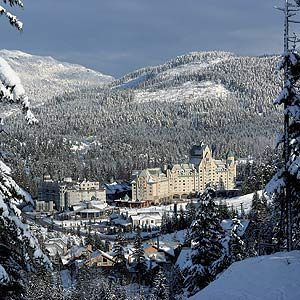 2. The Fairmont Chateau, Whistler, B.C.