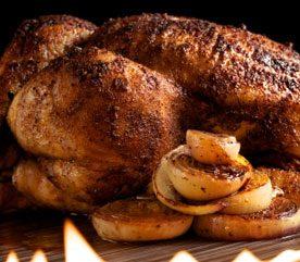 Recipe: Honey-Mustard Barbecued Chicken