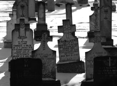 St. Boniface Cathedral Cemetery - Winnipeg, Manitoba