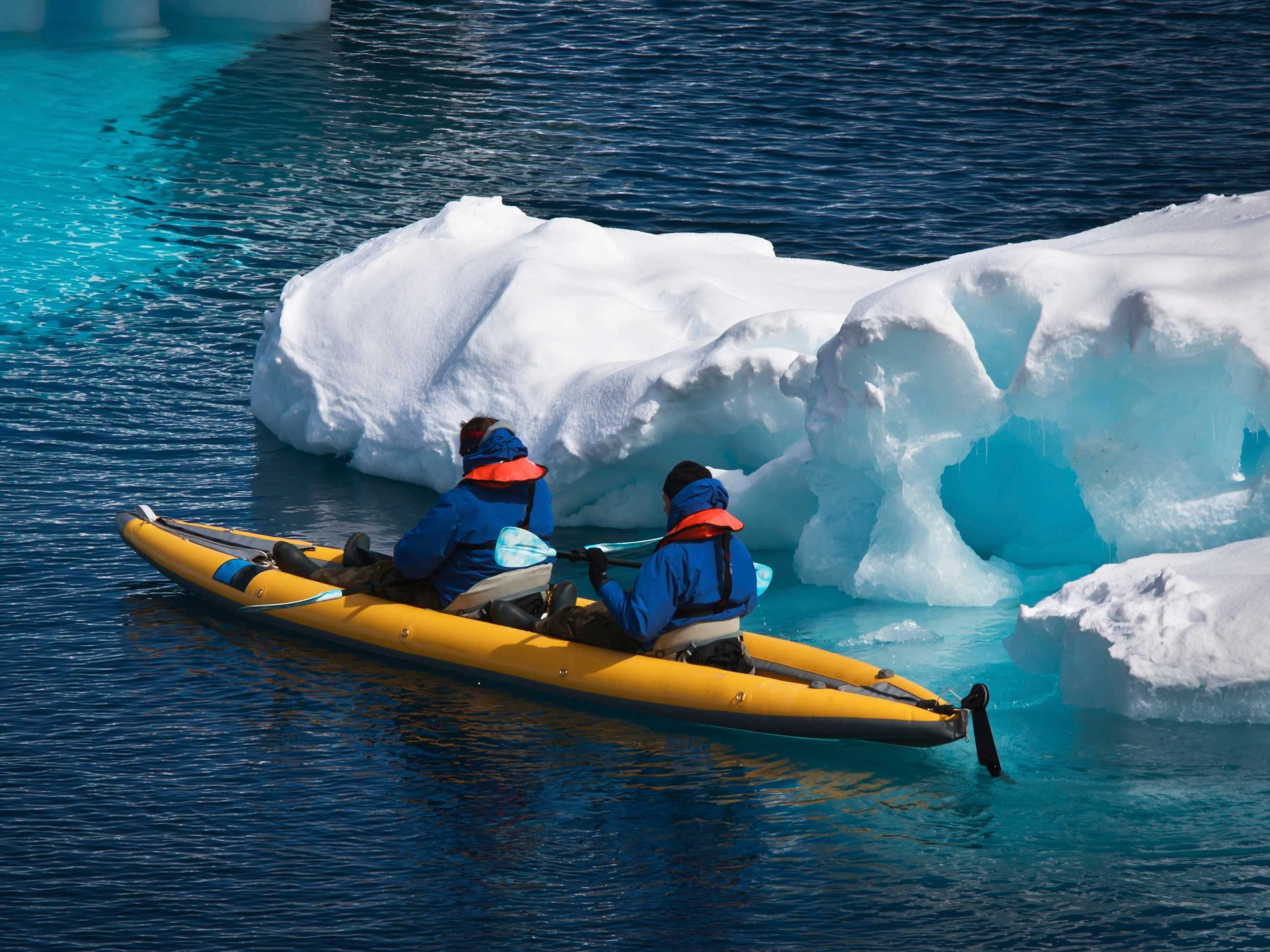 Winter Kayaking - La Malbaie, Quebec