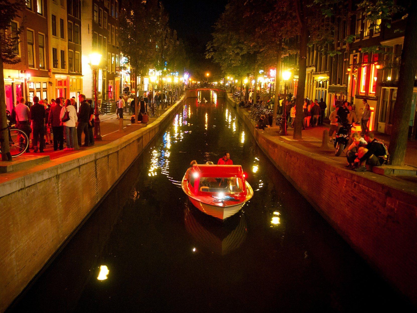 World's Sexiest Travel Destinations: Amsterdam