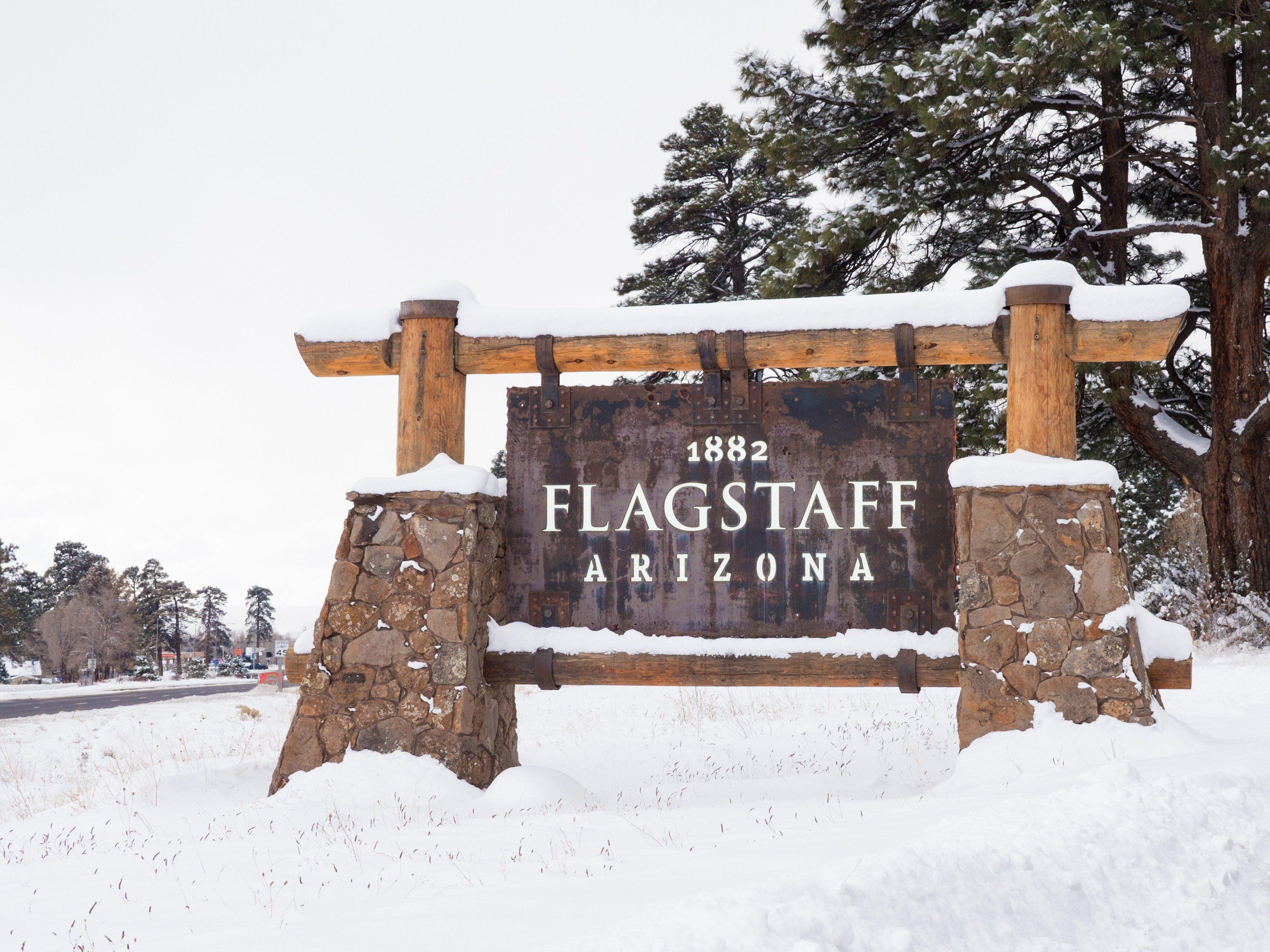 Snowiest Destinations: Flagstaff, Arizona