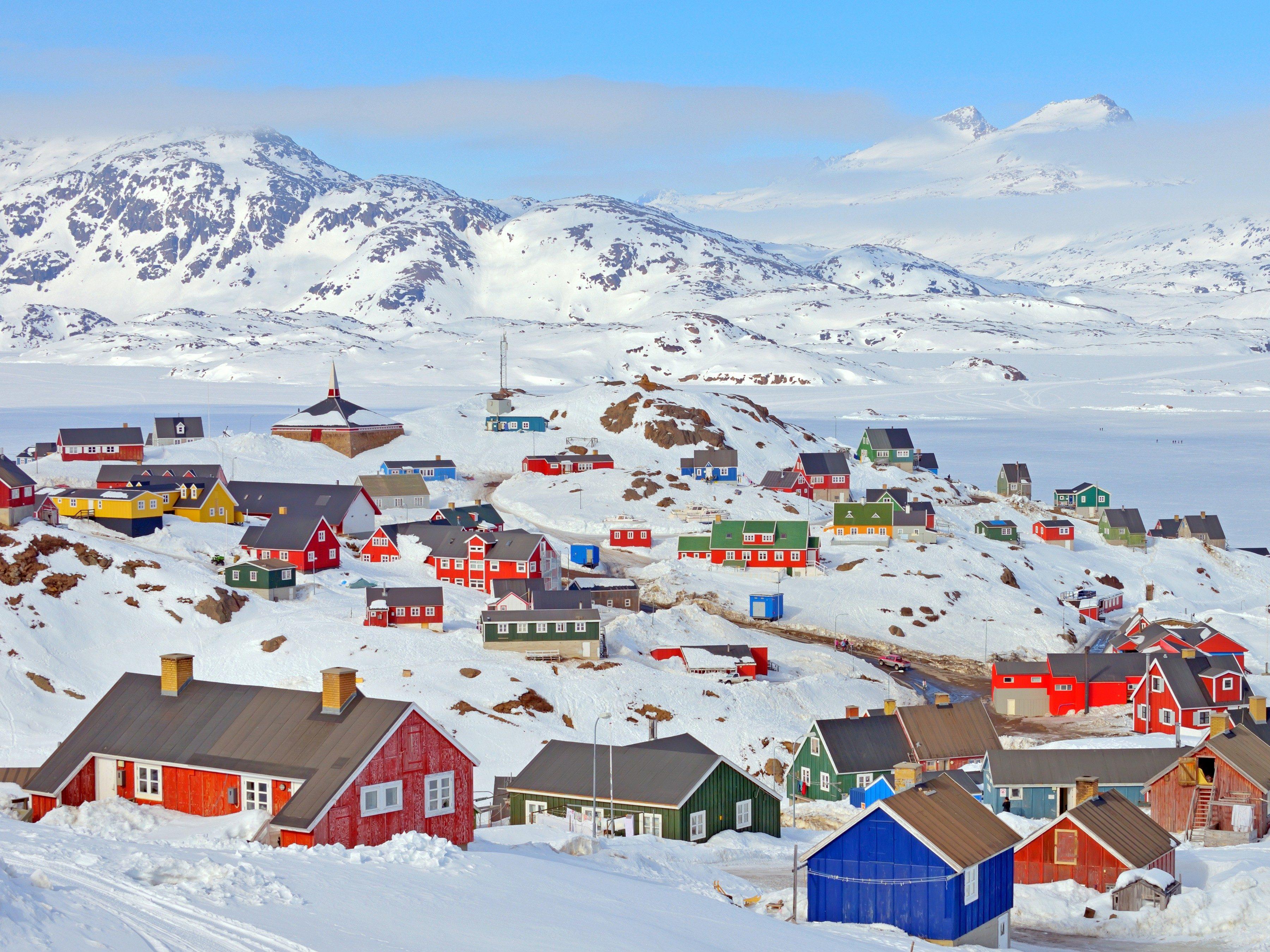Snowiest Destinations: Greenland