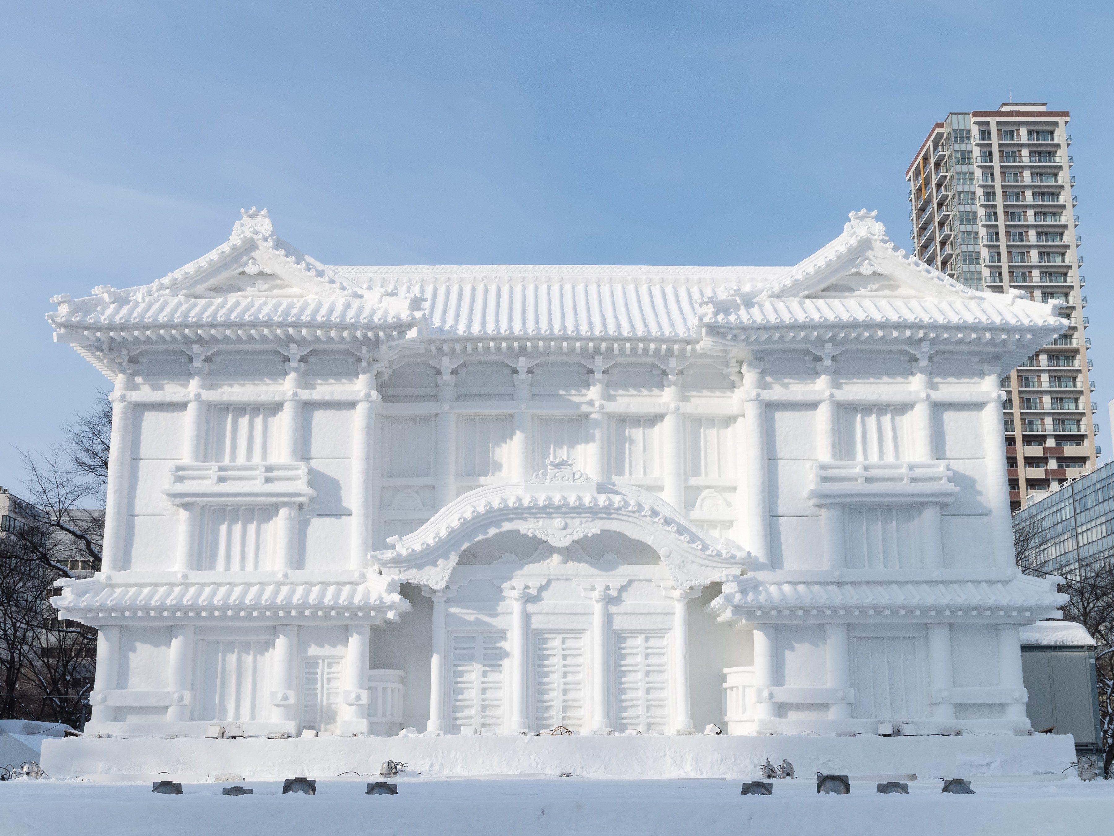 Snowiest Destinations: Sapporo, Japan