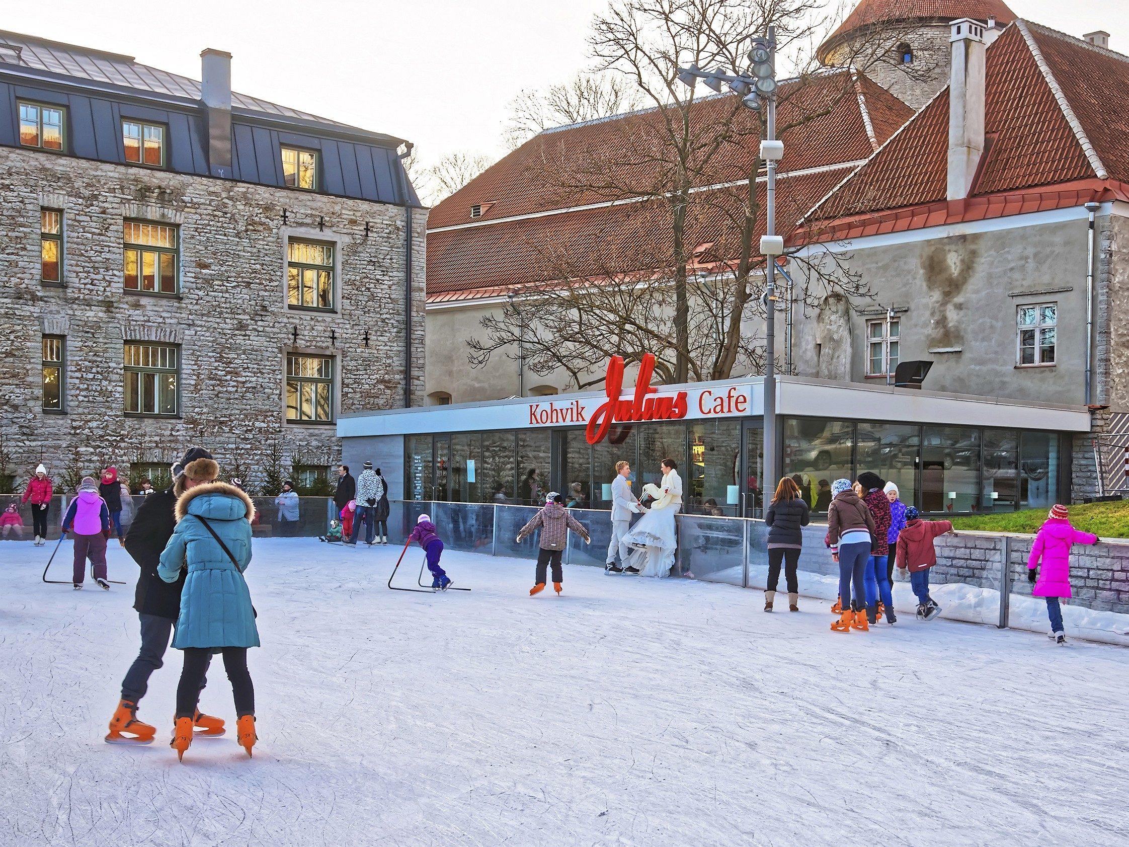 Snowiest Destinations: Tallinn, Estonia