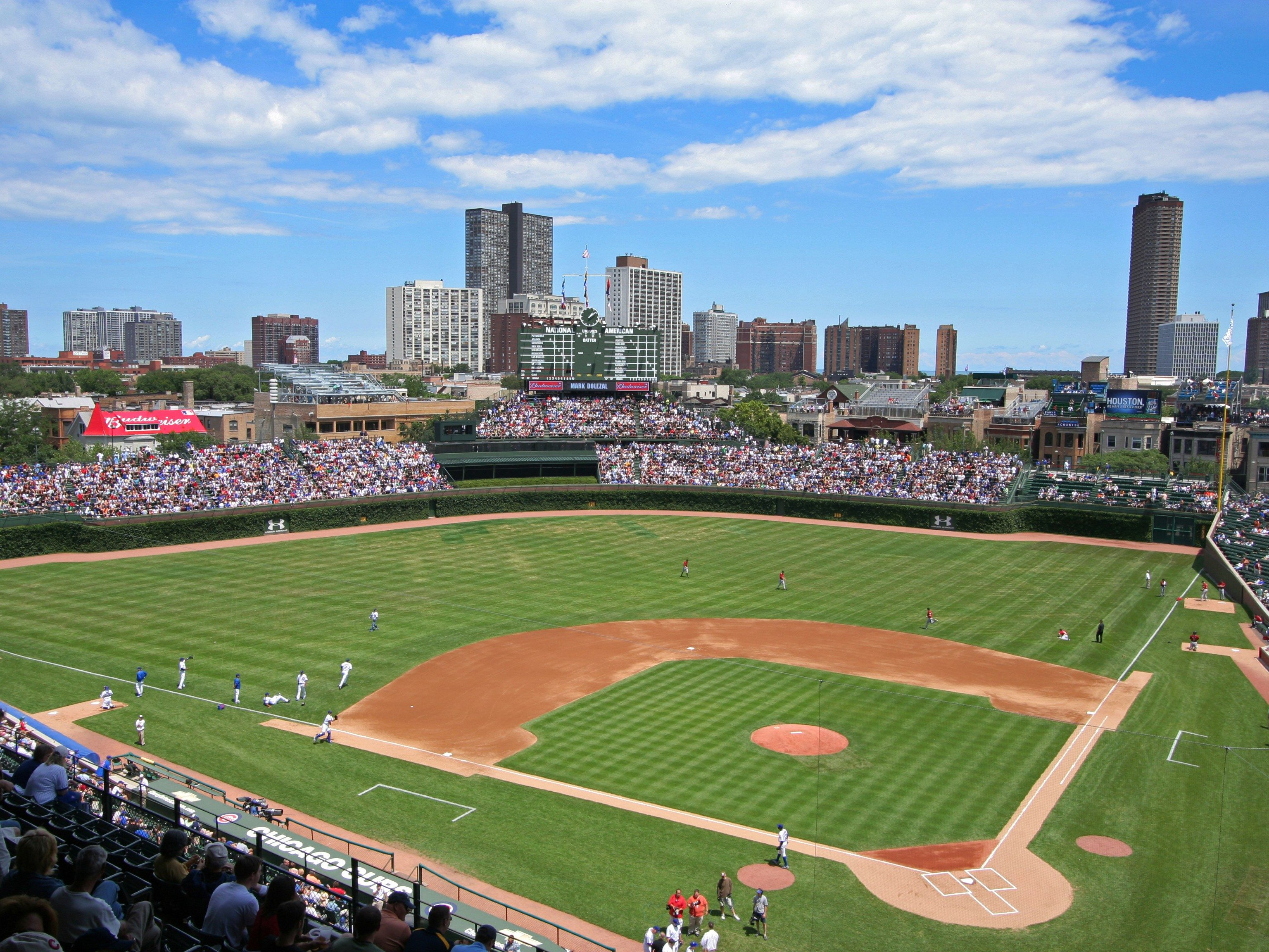 1. Wrigley Field - Chicago, Illinois; home of the Cubs.