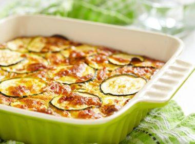 Zucchini Cheddar Bake