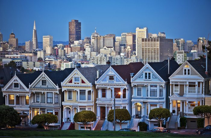 Row of houses in San Francisco