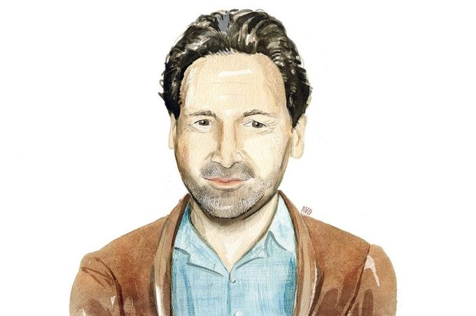 Illustration of Barry Avrich