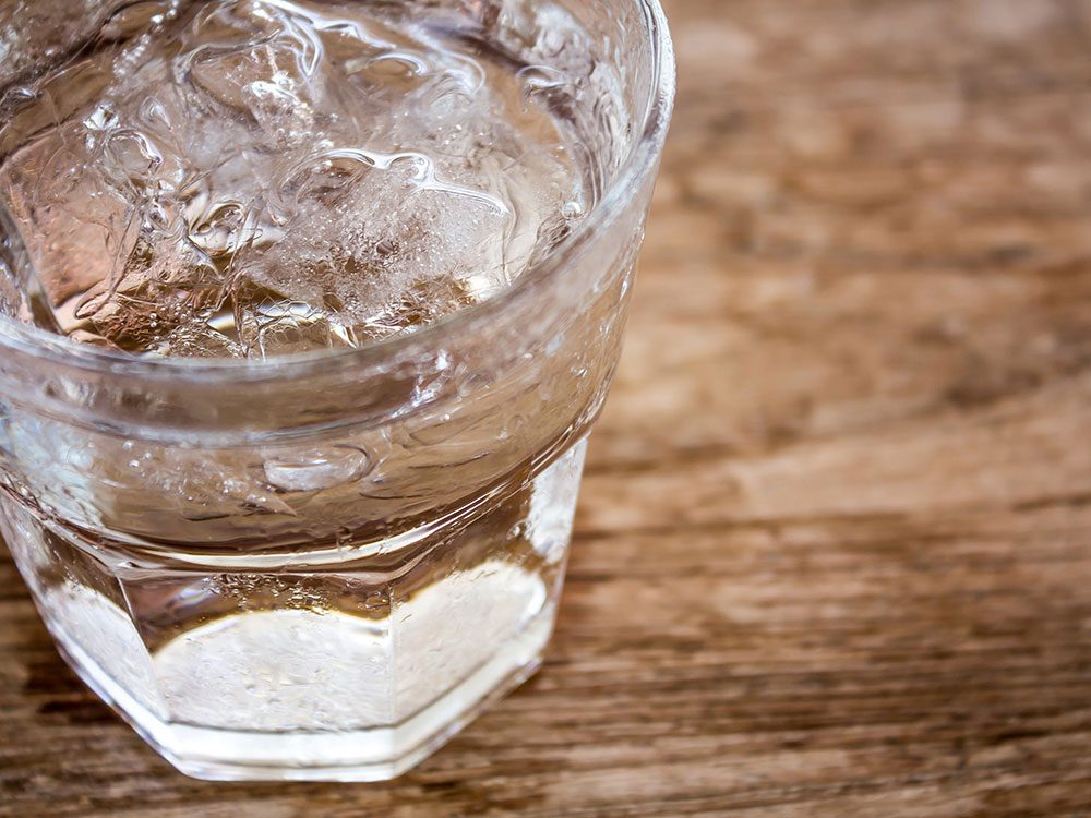 Drink water to get rid of hiccups