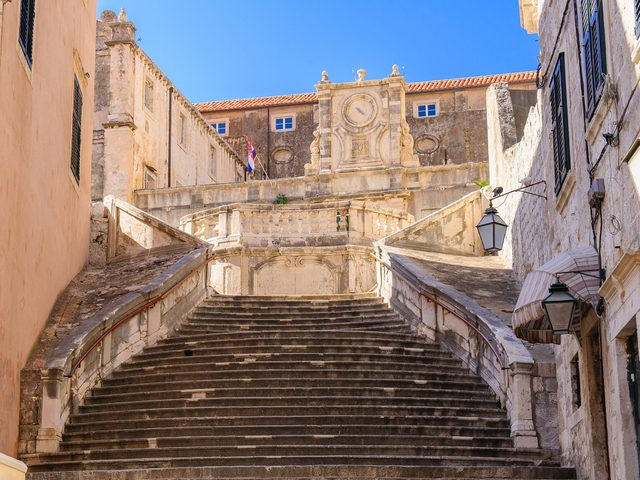 "The famous ""Walk of Shame"" staircase from Game of Thrones"