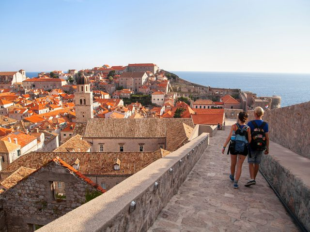 Dubrovnik's historic city walls